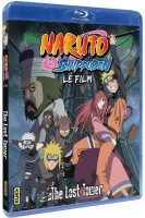 vidéo manga - Naruto Shippuden Film 4 - The Lost Tower - Blu-Ray