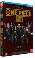vidéo manga - One Piece - Strong World - Film 10 - Blu-Ray - Collector