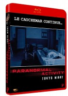 vidéo manga - Paranormal Activity - Tokyo Night - BluRay