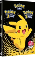 Dvd -Pokémon - Coffret - Films 1 à 3