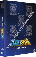 vidéo manga - Saint Seiya - Les Chevaliers du Zodiaque - Coffret 5 Films