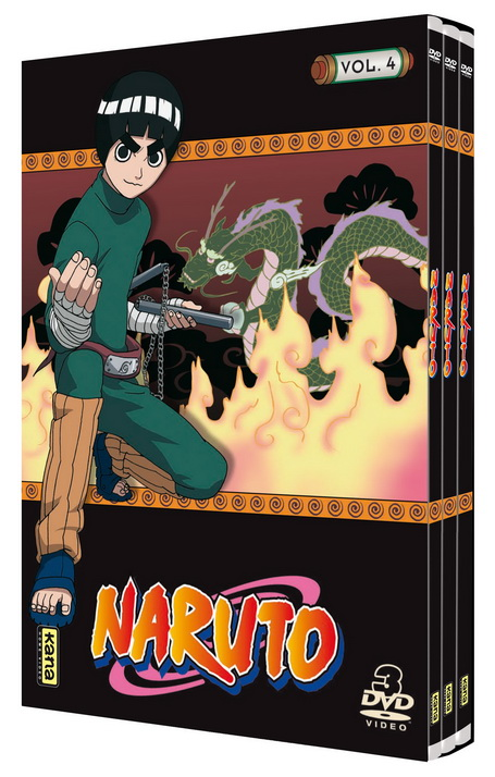 Naruto - Coffret Slim Vol.4