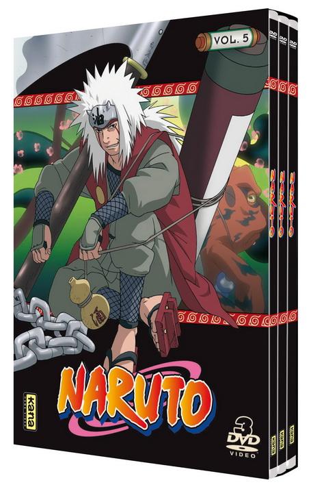 Naruto - Coffret Slim Vol.5