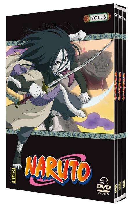 Naruto - Coffret Slim Vol.6