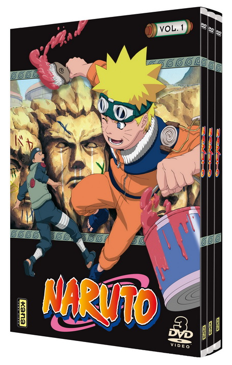Naruto - Coffret Slim Vol.1
