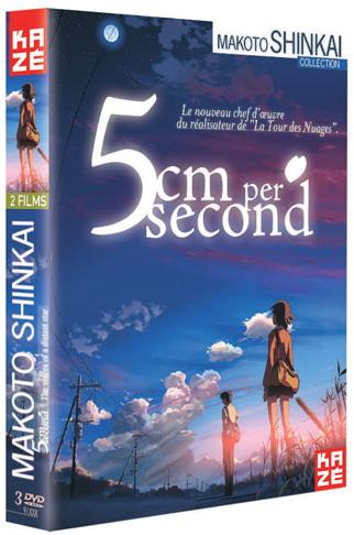 5 cm par seconde + Voices of the Distance Star - Integrale