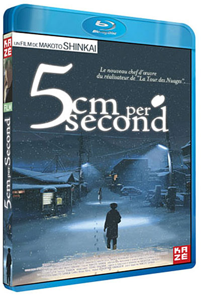 5 centimètres par seconde - Blu-ray