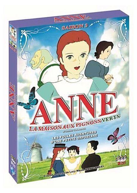 dvd anne aux pignons verts vol 3 anime dvd manga news