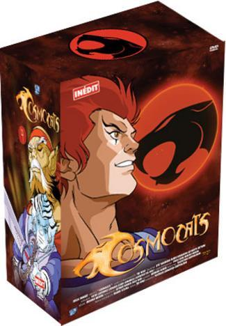 Thundercats  on Cosmocats Vol4 Telepictures Dvd Volume Manga News