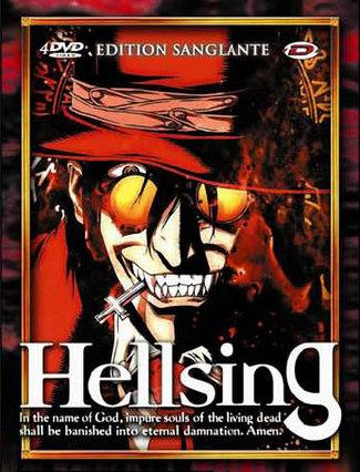 DVD Hellsing - Intégrale Coffret - Anime Dvd - Manga news