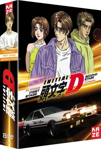 dvd initial d first stage second stage anime dvd manga news. Black Bedroom Furniture Sets. Home Design Ideas
