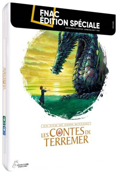 Contes de Terremer (les) Boîtier Métal Exclusivité Fnac Combo Blu-ray DVD