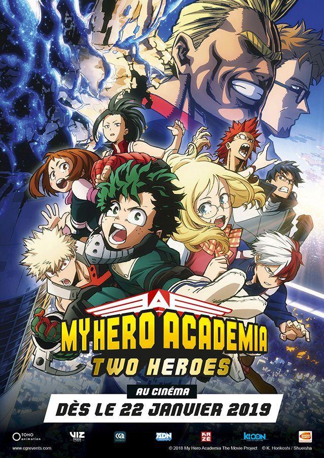 My Hero Academia - Film 1 - Two heroes - Blu-Ray