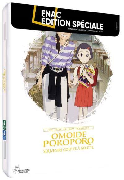 Omoide Poroporo : Souvenirs goutte à goutte Boîtier Métal Exclusivité Fnac Combo Blu-ray DVD