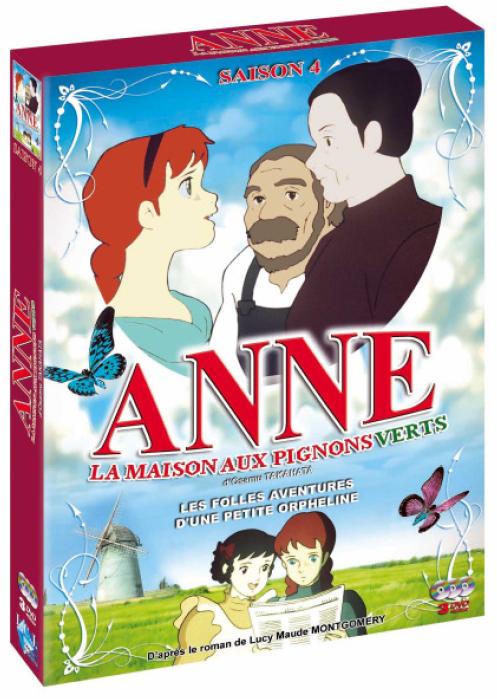 Dvd anne aux pignons verts vol 4 anime dvd manga news for Anne et la maison au pignon vert