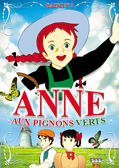 Dvd anne aux pignons verts vol 1 anime dvd manga news for Anne la maison aux pignons verts dvd