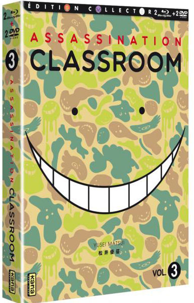 dvd assassination classroom saison 2 vol 1 anime dvd manga news. Black Bedroom Furniture Sets. Home Design Ideas