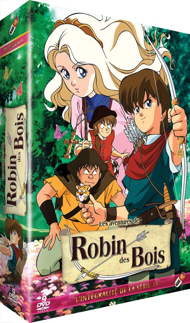 DVD Aventures de Robin des bois (les)  Intégrale  Anime Dvd  Manga  ~ Le Robin Des Bois