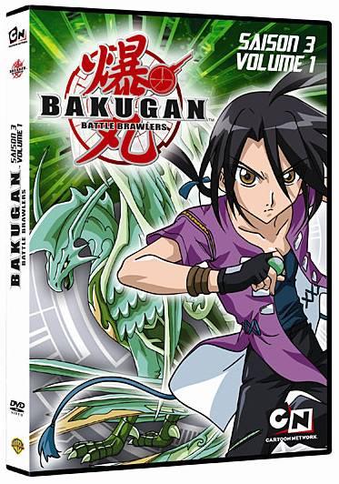Dvd bakugan saison 3 vol 1 anime dvd manga news - Bakugan saison 4 ...