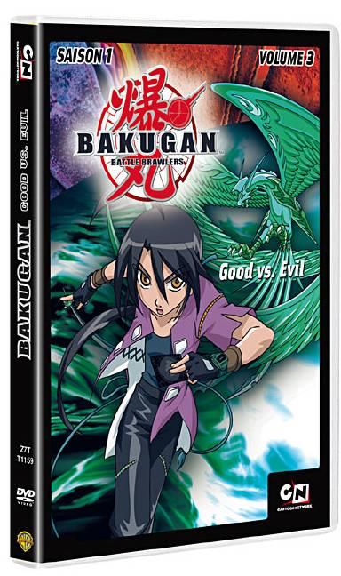 Dvd bakugan vol 3 anime dvd manga news - Bakugan saison 4 ...