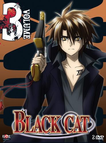 Dvd Black Cat Vol 3 Anime Dvd Manga News
