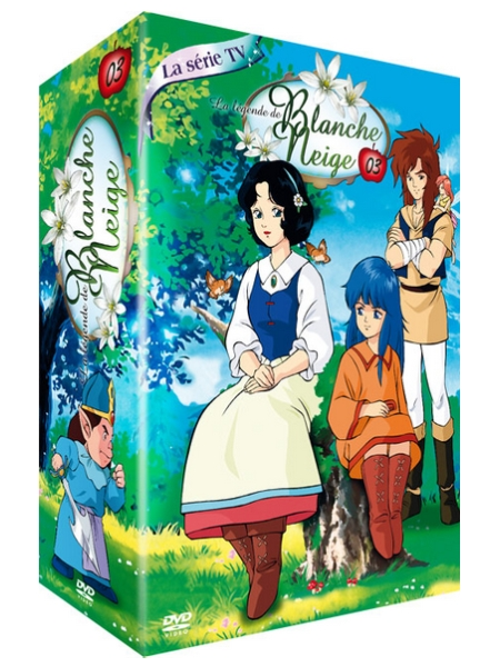 dvd l gende de blanche neige la vol 3 anime dvd. Black Bedroom Furniture Sets. Home Design Ideas