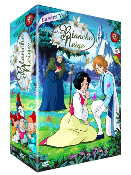 dvd l gende de blanche neige la vol 4 anime dvd. Black Bedroom Furniture Sets. Home Design Ideas