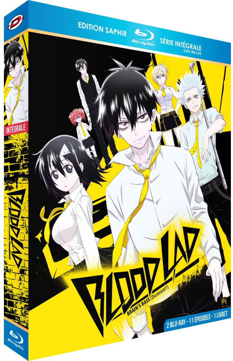 blu ray blood lad int grale blu ray saphir anime bluray manga news. Black Bedroom Furniture Sets. Home Design Ideas