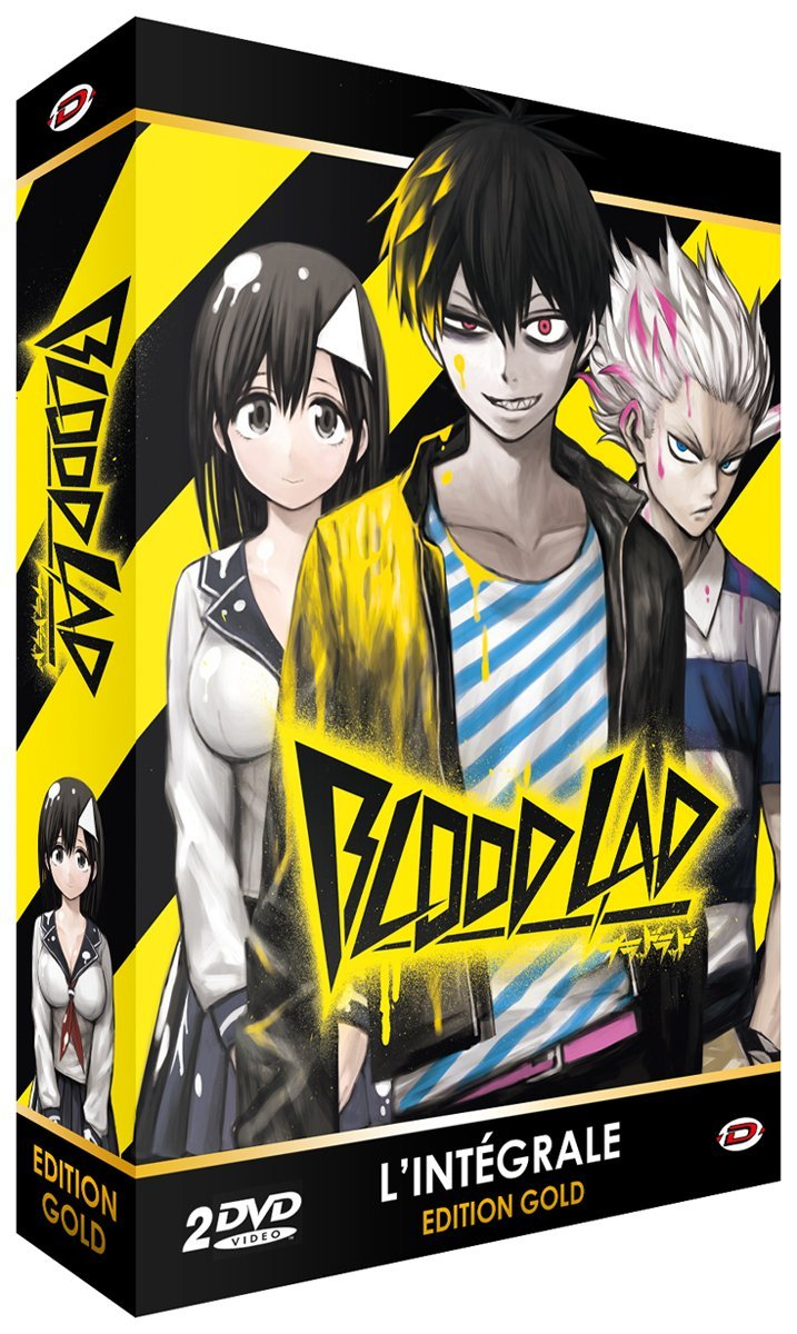 dvd blood lad int grale edition gold anime dvd manga news. Black Bedroom Furniture Sets. Home Design Ideas