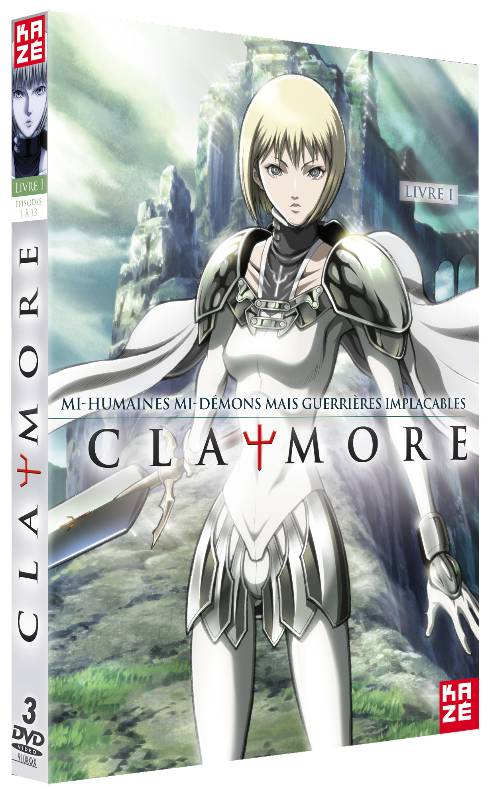 CLAYMORE Claymore01-dvd