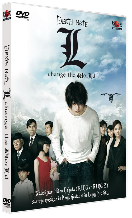 dvd death note film 3 live simple l change the world anime dvd manga news. Black Bedroom Furniture Sets. Home Design Ideas
