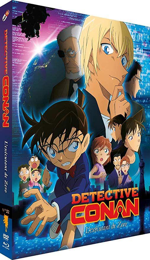 Détective Conan - Film 22 : L'Exécutant de Zero - Combo Blu-ray + DVD