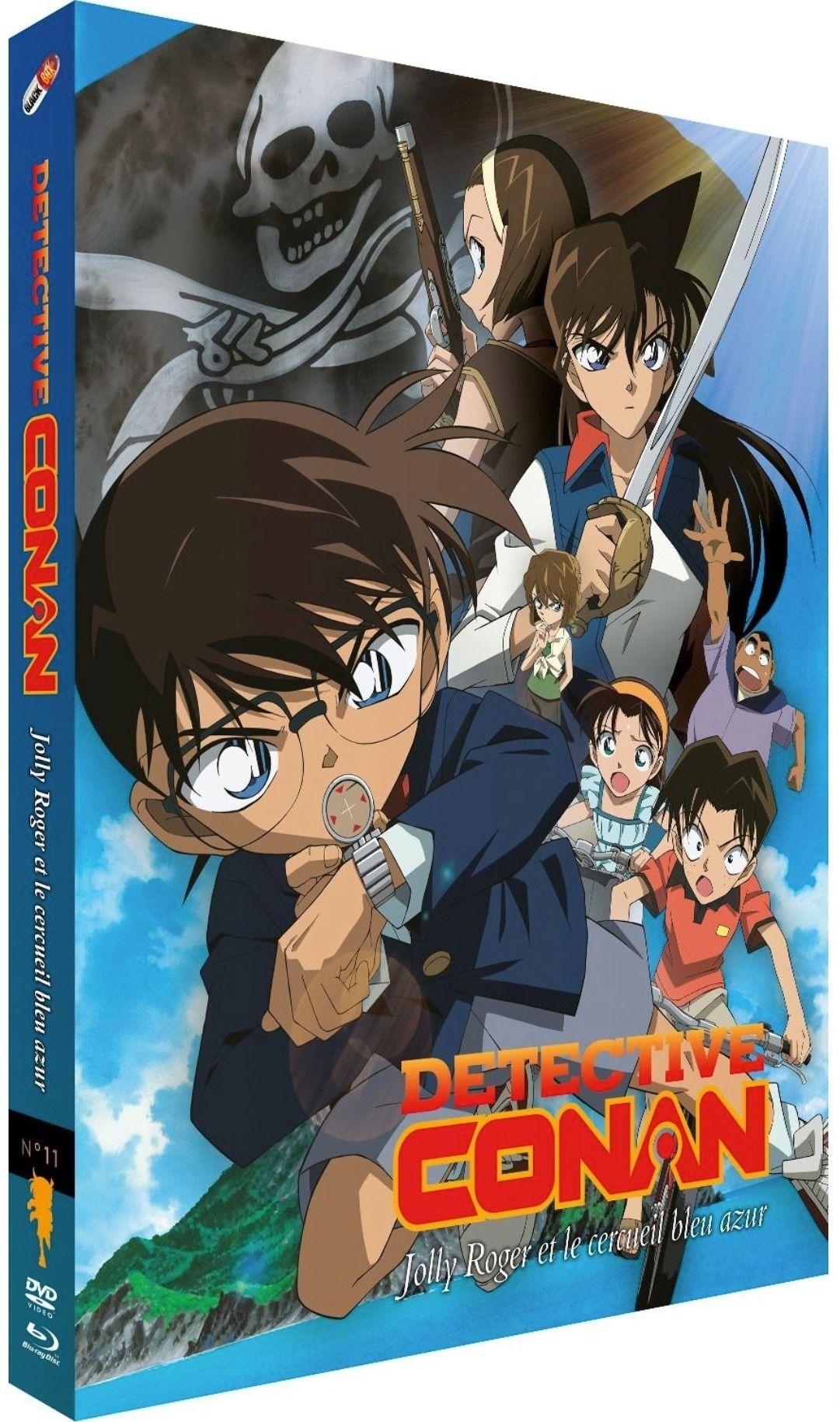 Détective Conan - Film 11 : Jolly Roger et le Cercueil bleu azur - Combo Blu-ray + DVD