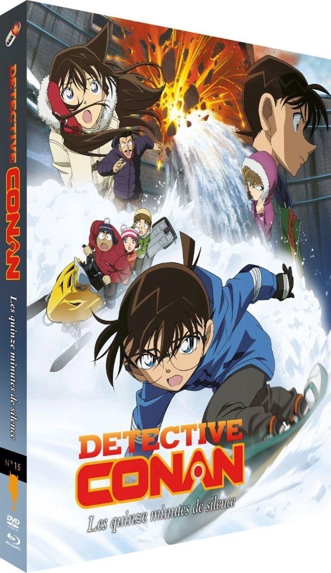 Détective Conan - Film 15 : Les Quinze Minutes de silence - Combo Blu-ray + DVD