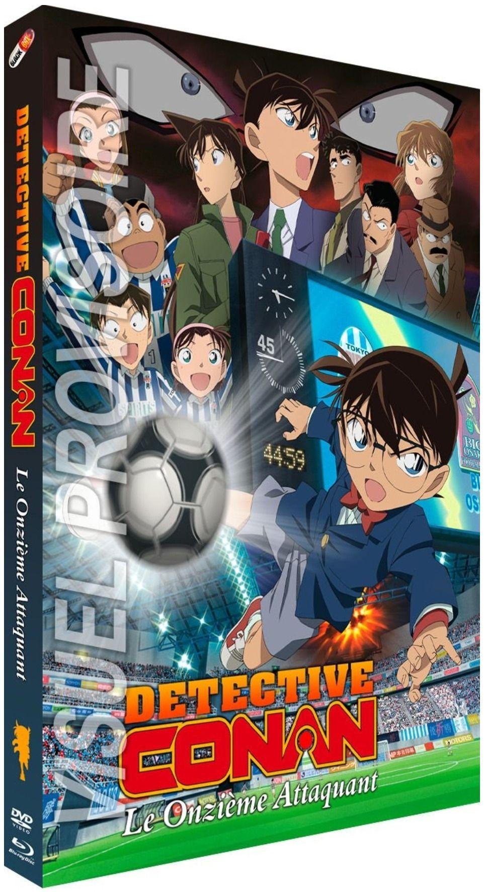Détective Conan - Film 16 : Le Onzième Attaquant - Combo Blu-ray + DVD