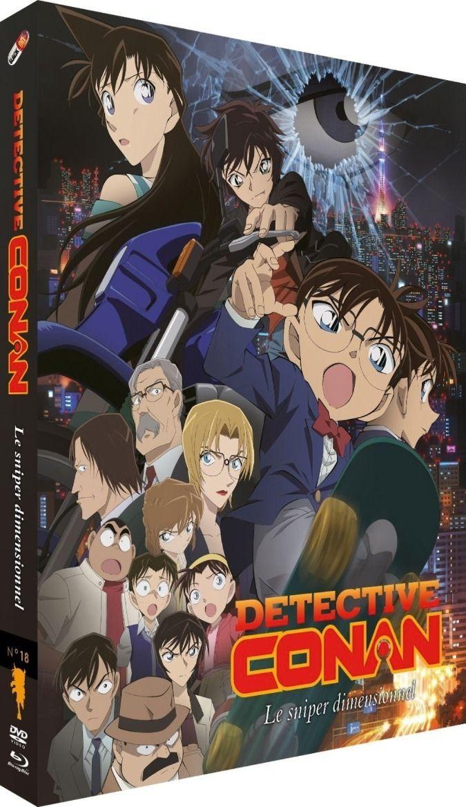 Détective Conan - Film 18 : Le Sniper Dimensionnel - Combo Blu-ray + DVD