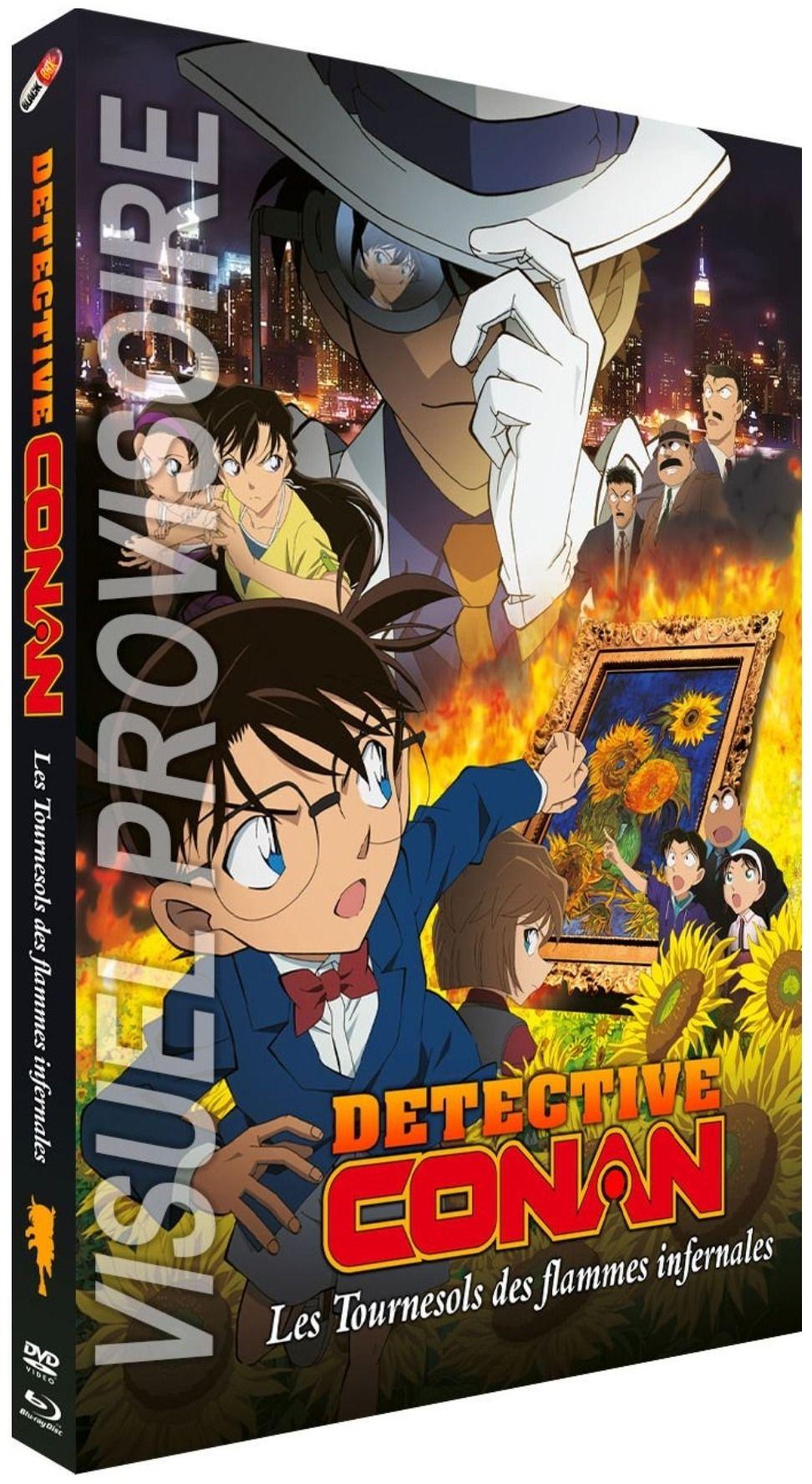 Détective Conan - Film 19 : Les Tournesols des flammes infernales - Combo Blu-ray + DVD
