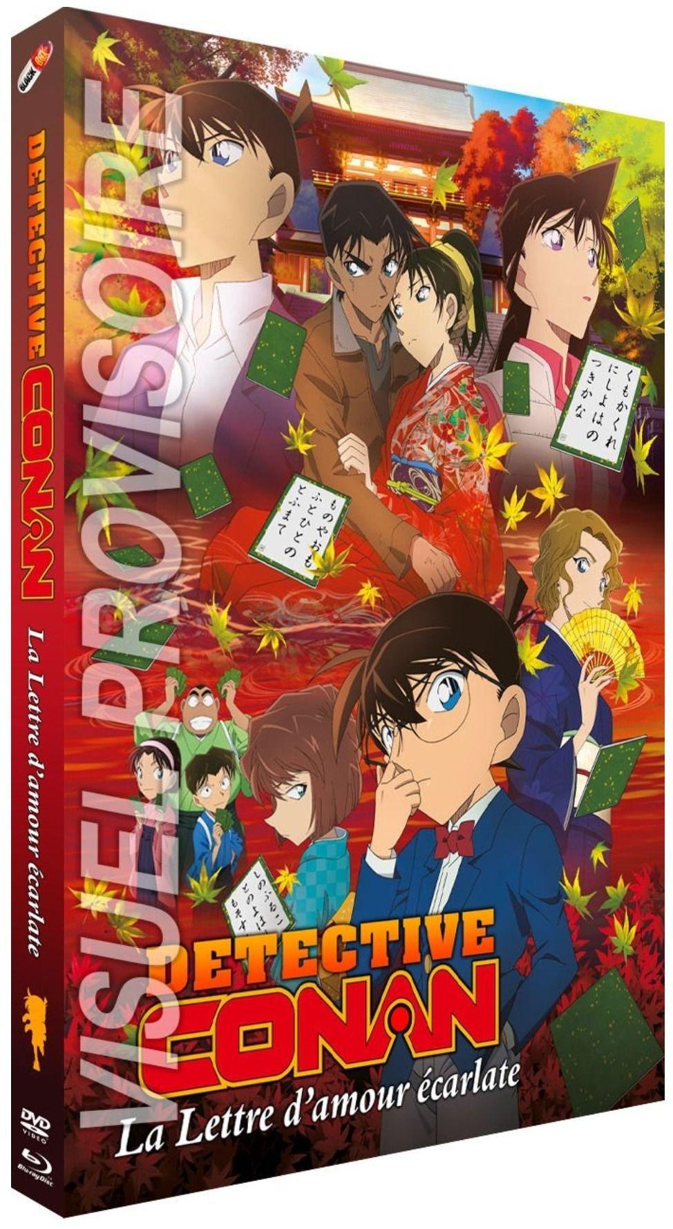 Détective Conan - Film 21 : La lettre d'amour écarlate - Combo Blu-ray + DVD