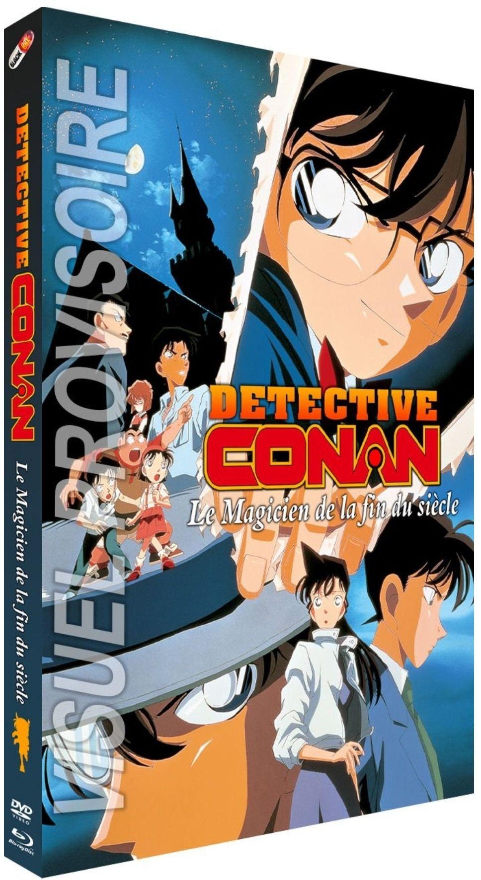 Détective Conan - Film 3 : Le Magicien de la fin du siècle - Combo Blu-ray + DVD