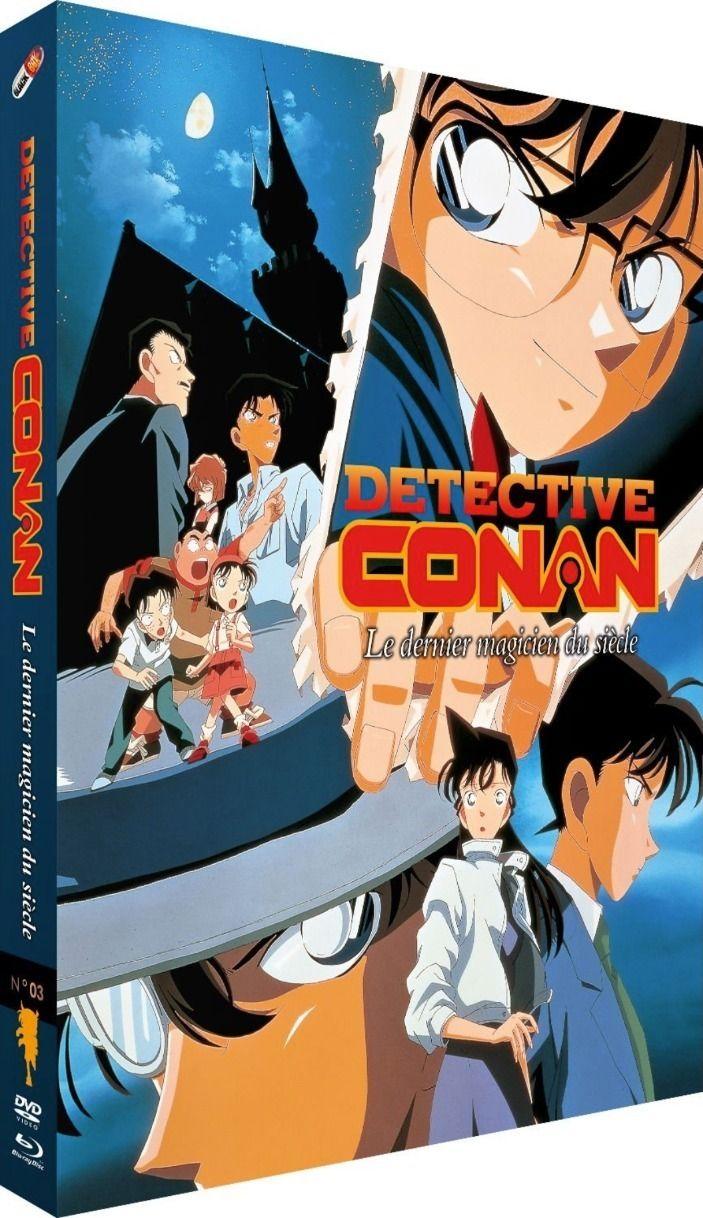 Détective Conan - Film 03 : Le Magicien de la fin du siècle - Combo Blu-ray + DVD
