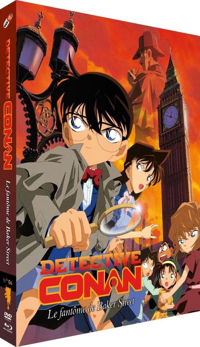 Détective Conan - Film 06 : Le Fantôme de Baker Street - Combo Blu-ray + DVD