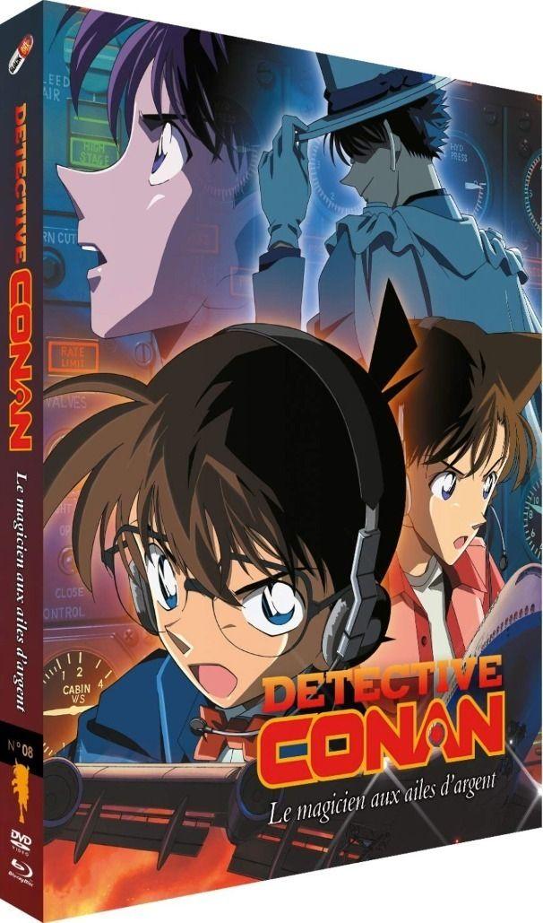 Détective Conan - Film 08 : Le Magicien du ciel argenté - Combo Blu-ray + DVD