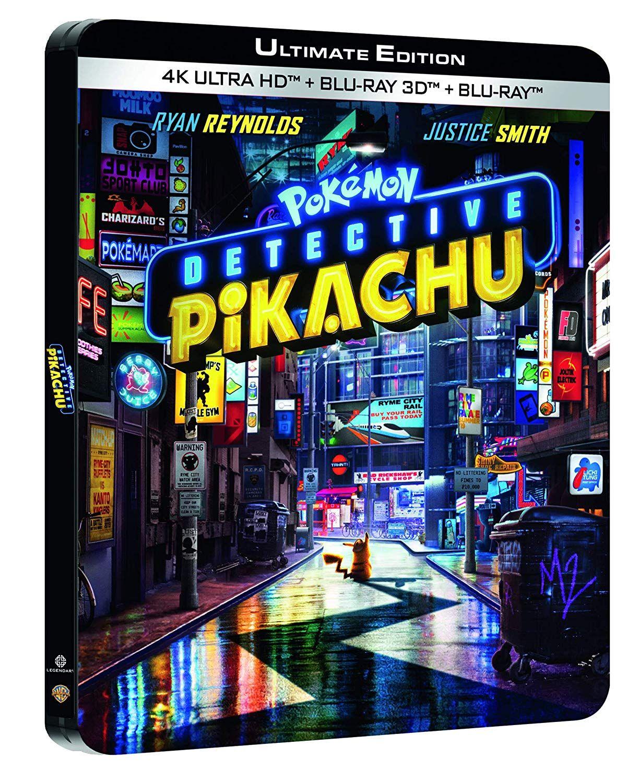 Pokémon - Détective Pikachu 4K Ultra HD Boîtier SteelBook