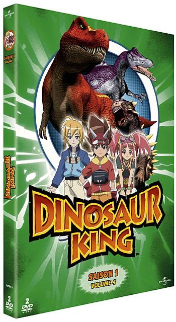 Dvd dinosaur king saison 1 vol 4 anime dvd manga news - Dinosaure king saison 2 ...