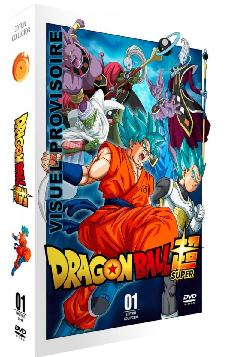 Des coffrets collector pour l'anime Dragon Ball Super, 13 Juin 2018