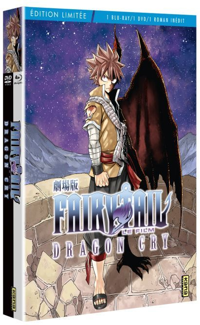 Fairy Tail - Film 2 - Dragon Cry - Combo Blu-Ray DVD