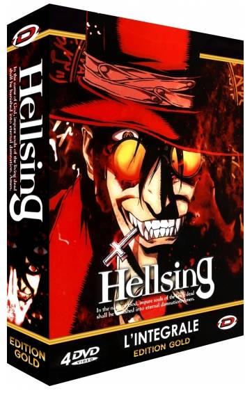 Hellsing - Intégrale VO/VF/VOSTFR - Edition Gold -DVDRIP - ISO