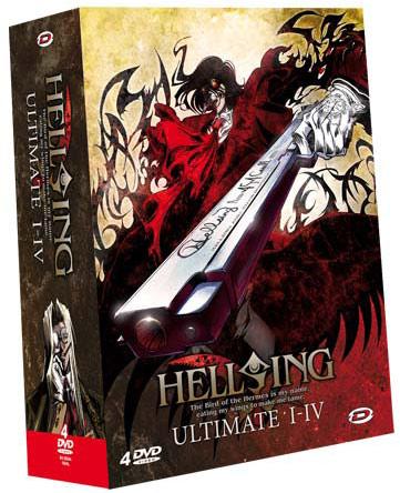 DVD Hellsing Ultimate Coffret - Anime Dvd - Manga news