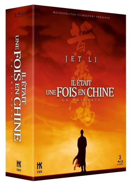 Il était une fois en Chine - Trilogie - BluRay