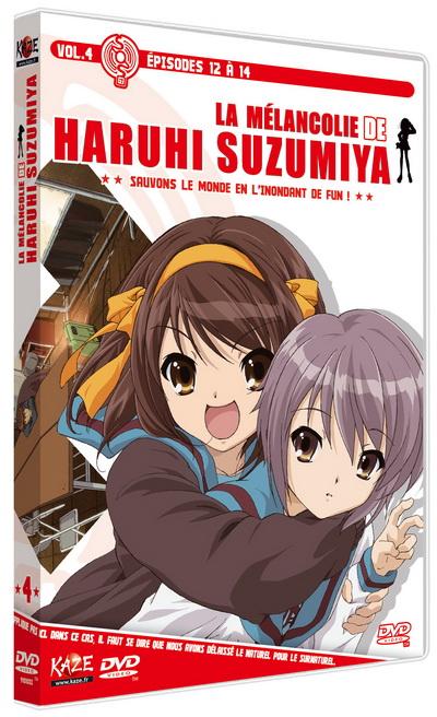 dvd m lancolie de suzumiya haruhi la vol 4 anime dvd manga news. Black Bedroom Furniture Sets. Home Design Ideas